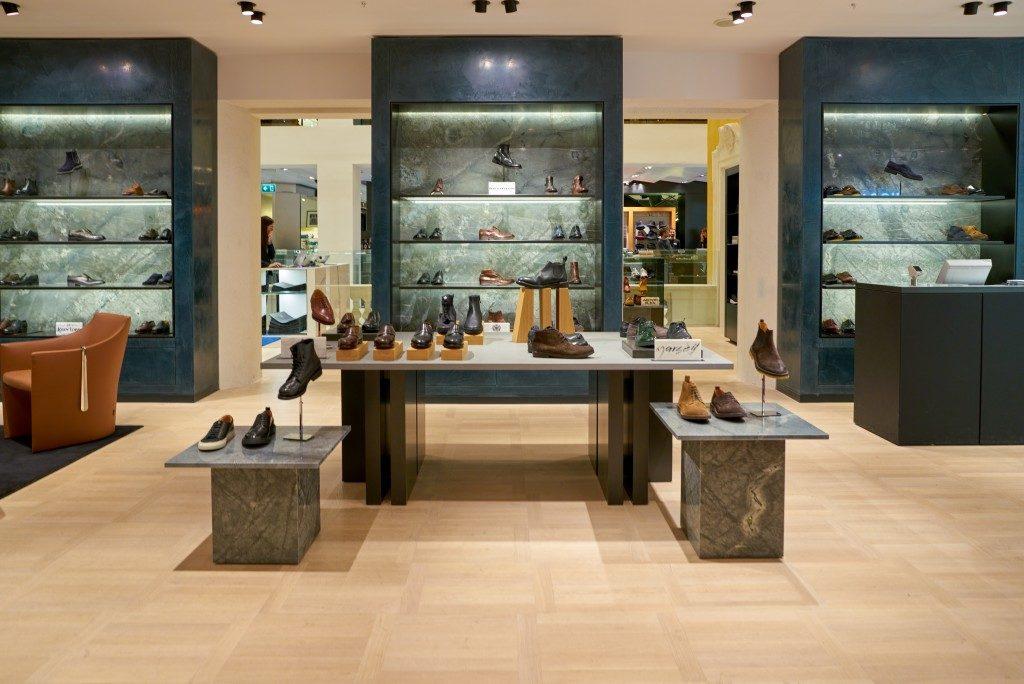 designer shoe store
