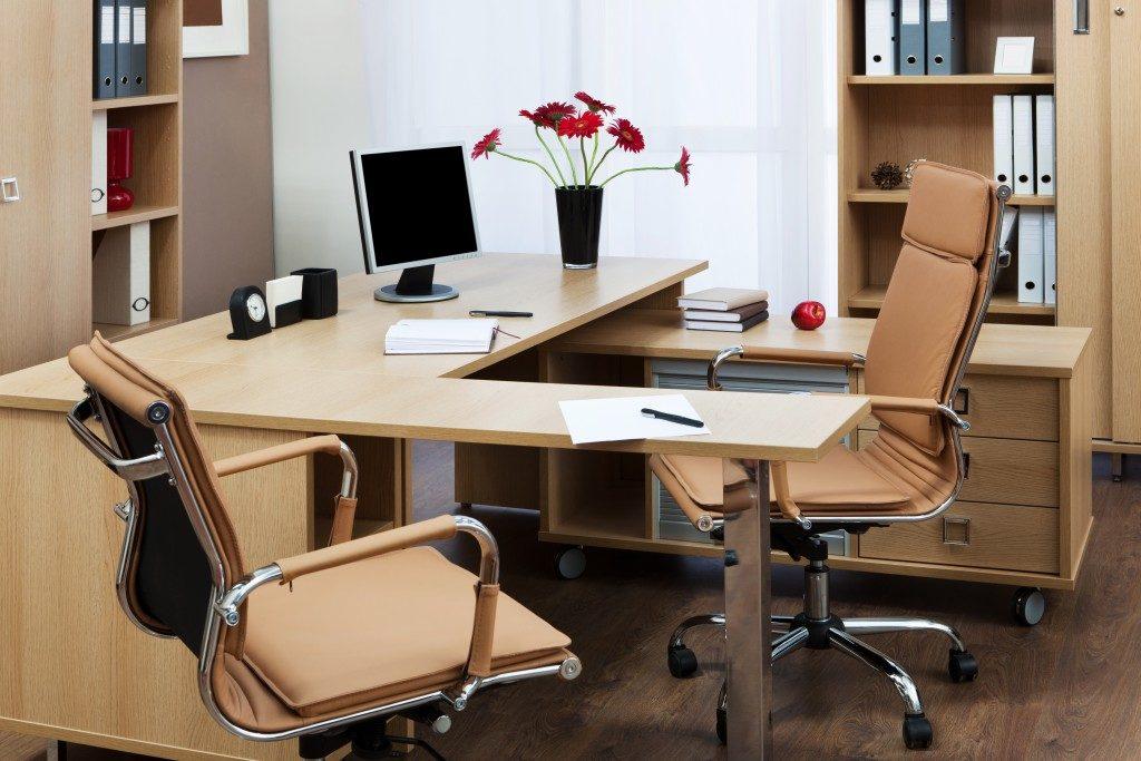 A modern office interior